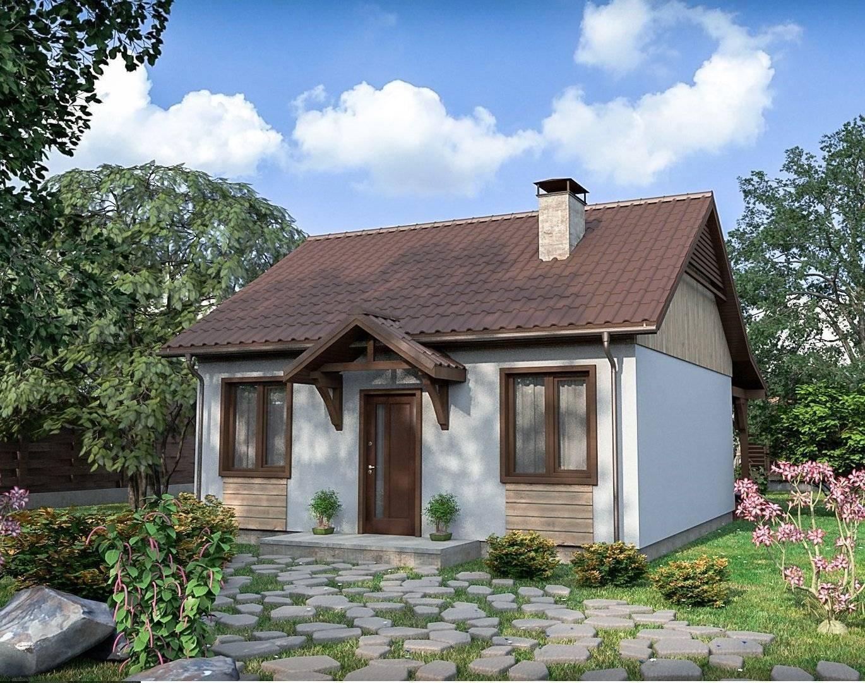 Проекты одноэтажных домов из пеноблоков: бесплатные, с планировкой