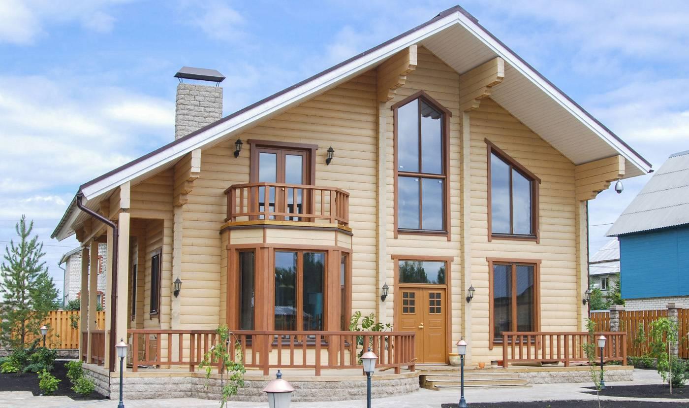 Проекты домов по технологии «двойной брус»