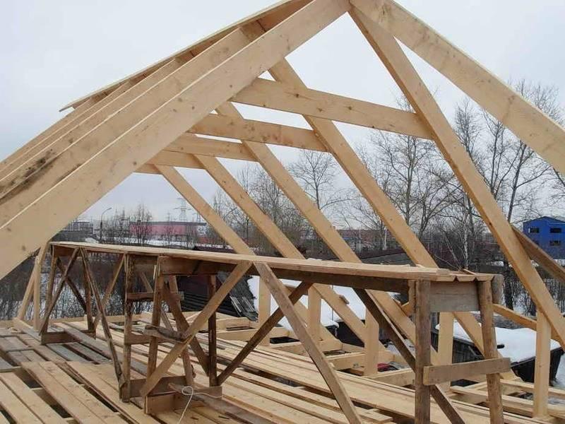 Как выполнить монтаж стропильной системы двухскатной крыши – пошаговое руководство