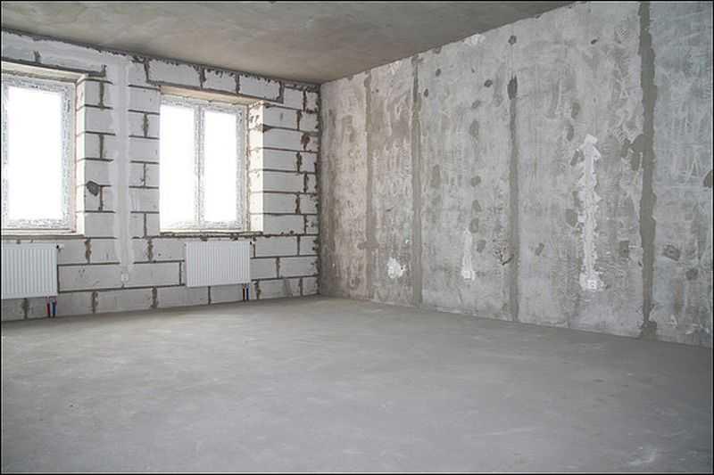 Порядок проведения ремонта в квартире с черновой отделкой