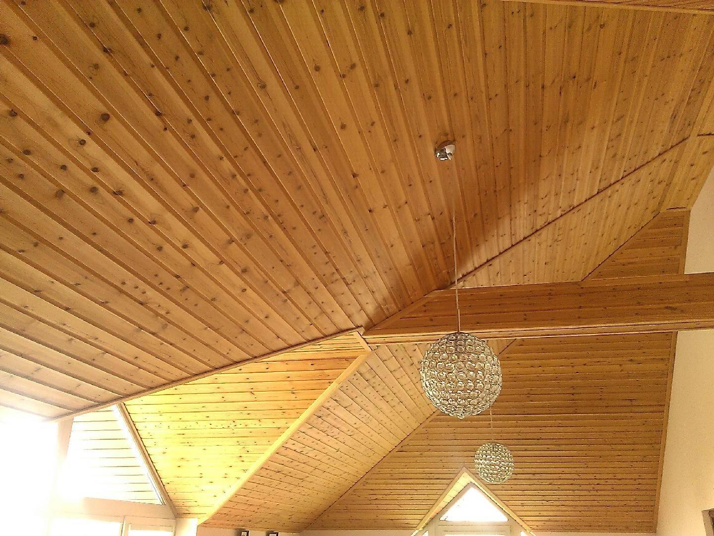 Потолок из вагонки (61 фото): как обшить и как крепить в деревянном доме