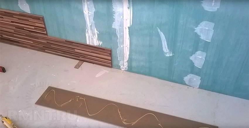 Отделка стен ламинатом - способы крепления, укладка своими руками