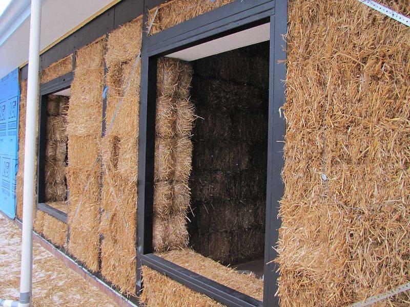 Реальные недостатки и риски при строительстве соломенного дома - дом из соломы своими руками, дневник стройки