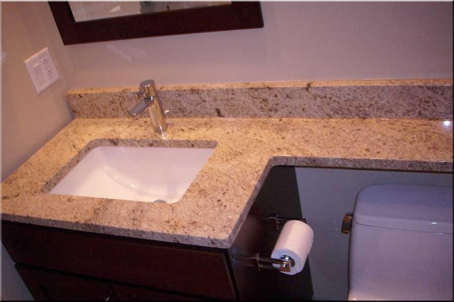 Столешница для раковины в ванной: виды, материалы изготовления, процесс выбора