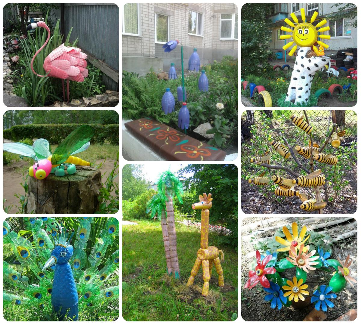 Поделки для сада своими руками: 200 лучших идей 2019 на фото