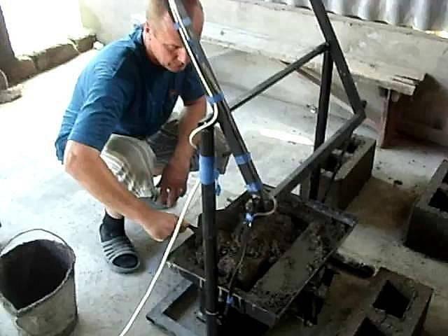 Изготовление шлакоблоков своими руками — инструкция изготовления в домашних условиях