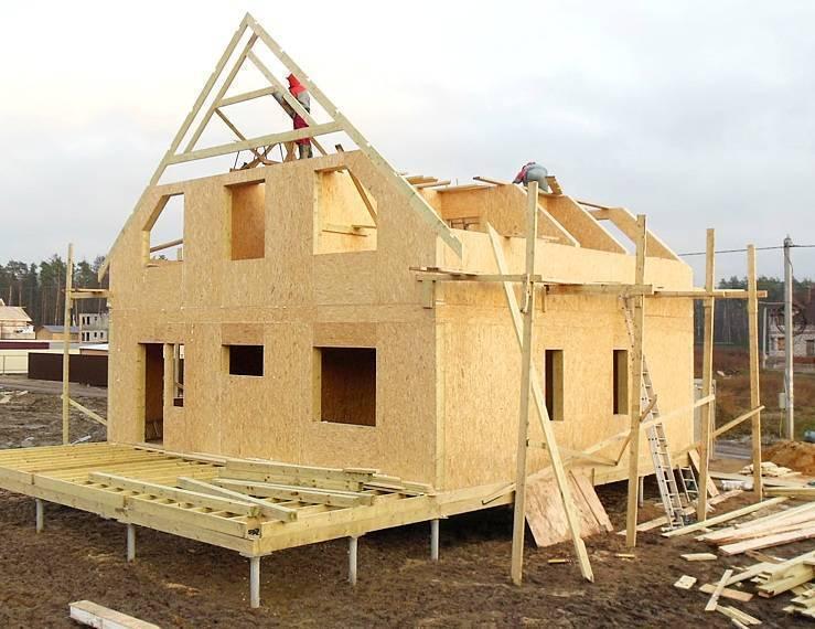 Сип панели или каркасный дом: основные отличия, плюсы и минусы