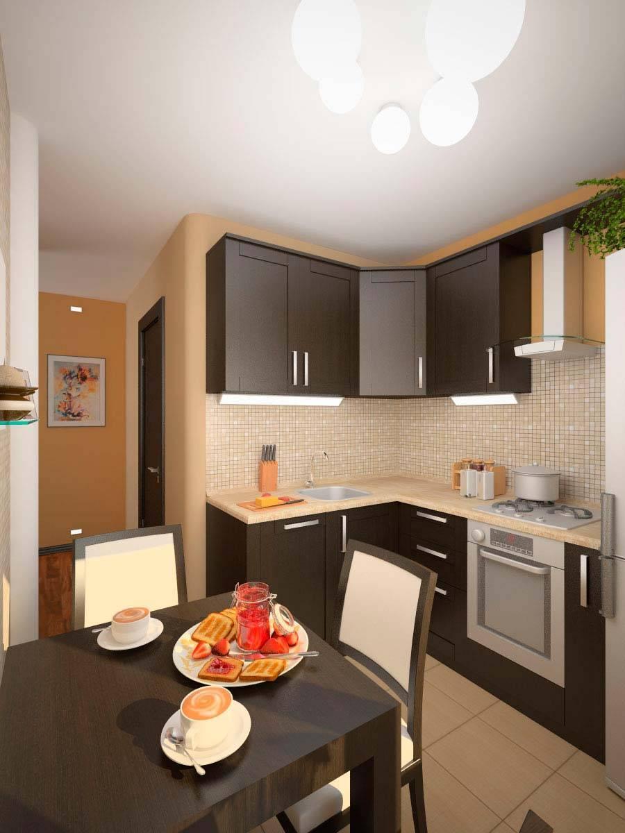 Что собой представляет идеальный дизайн кухни 9 кв. м