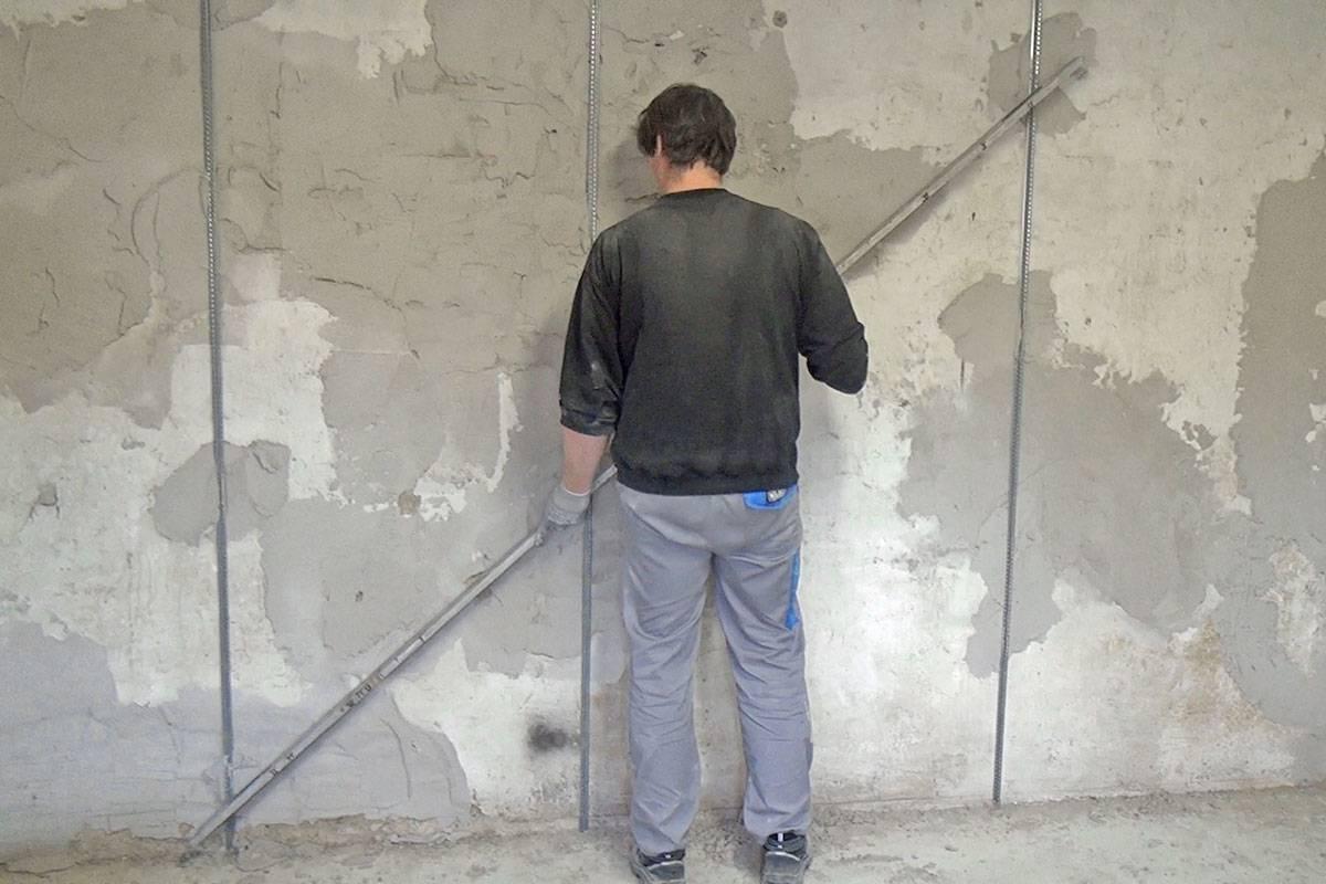 Штукатурка стен в новостройке