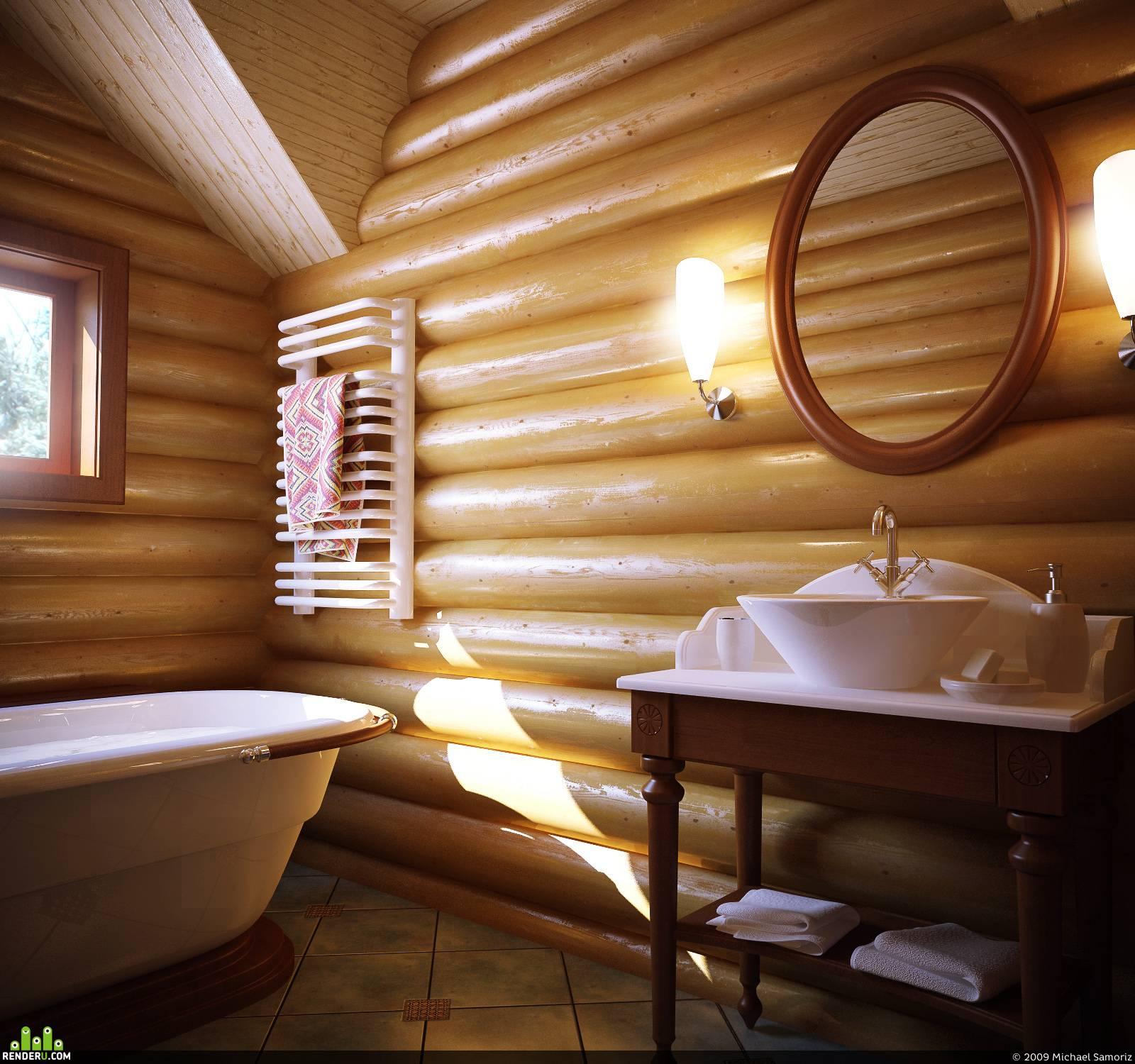 6 подходящих стилей для интерьера дома из бревна