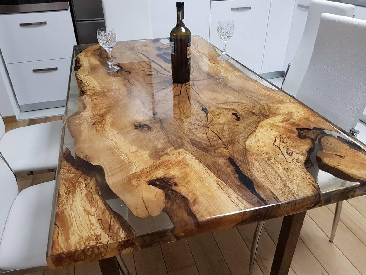 Мебель из эпоксидной смолы, плюсы и минусы, способы декорирования