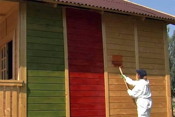 Как правильно покрасить изделие из дерева: какой лучше краской, технология