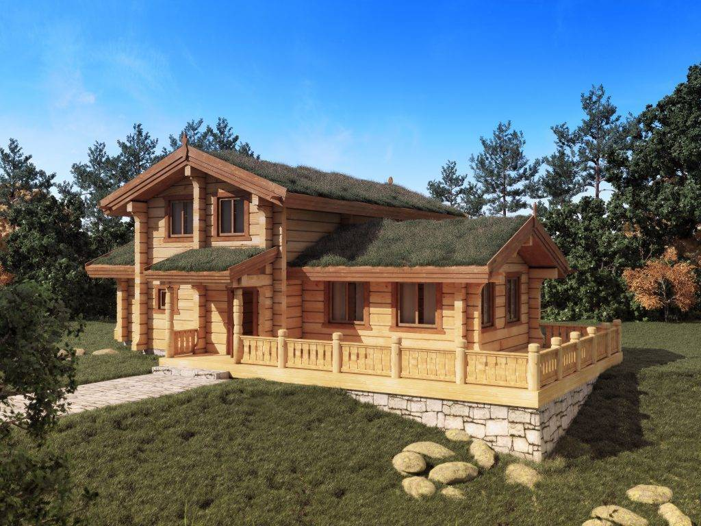 Как строят дома в лафет. строительство дома из лафета: преимущества и недостатки