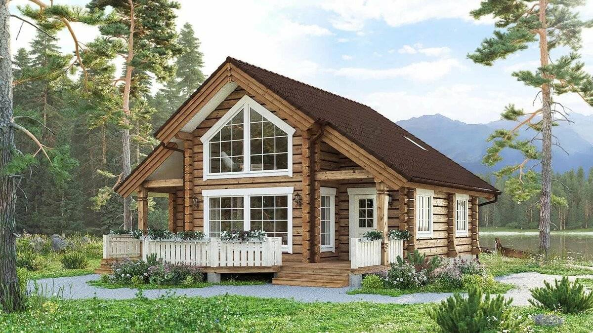 Строительство дома из лафета: преимущества и недостатки. дома из лафета – норвежская технология строительства на российском строительном рынке как строится дом из лафета