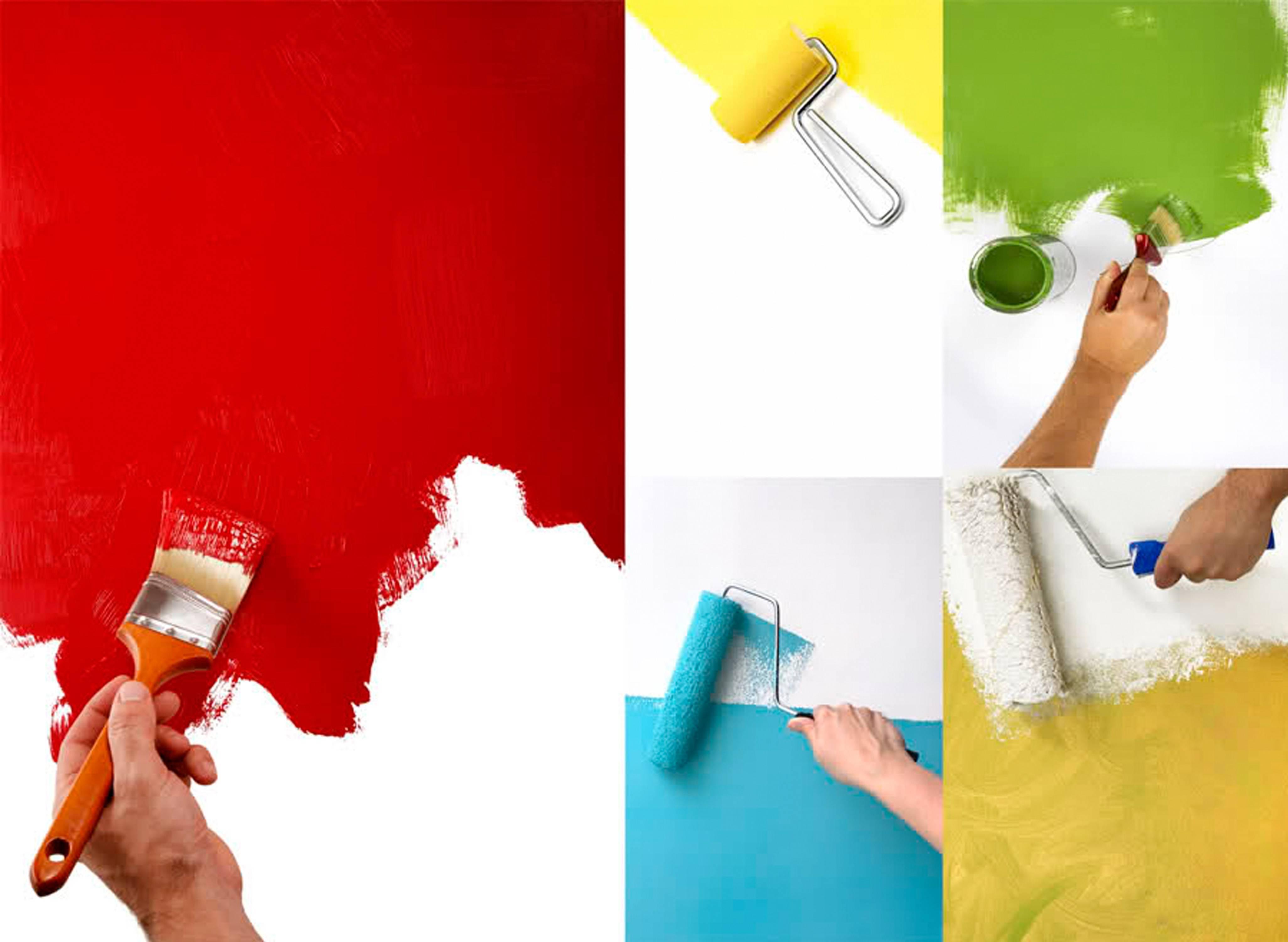 Как покрасить потолок акриловой краской своими руками без разводов и подтеков