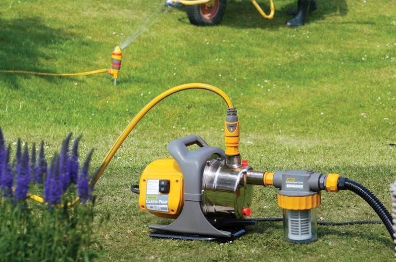 Как выбрать и применять насос для чистки колодца