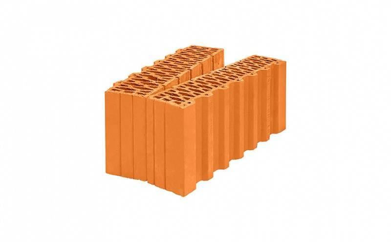 Поризованный керамический блок и крупноформатные камни