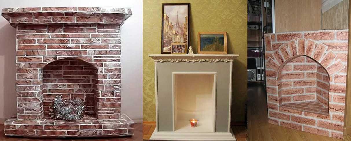 Как сделать декоративный камин