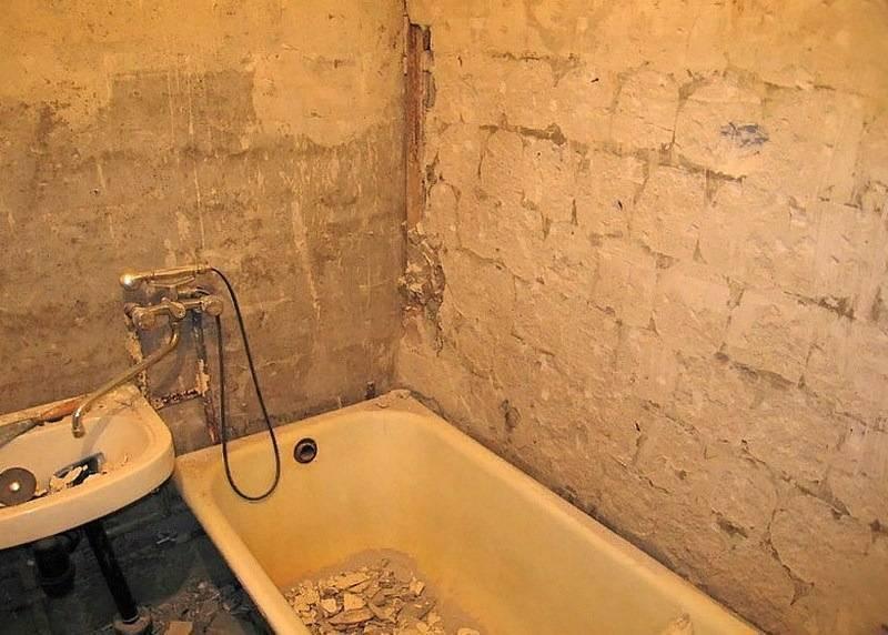 Ремонт ванной комнаты своими руками: с чего начать и как сделать