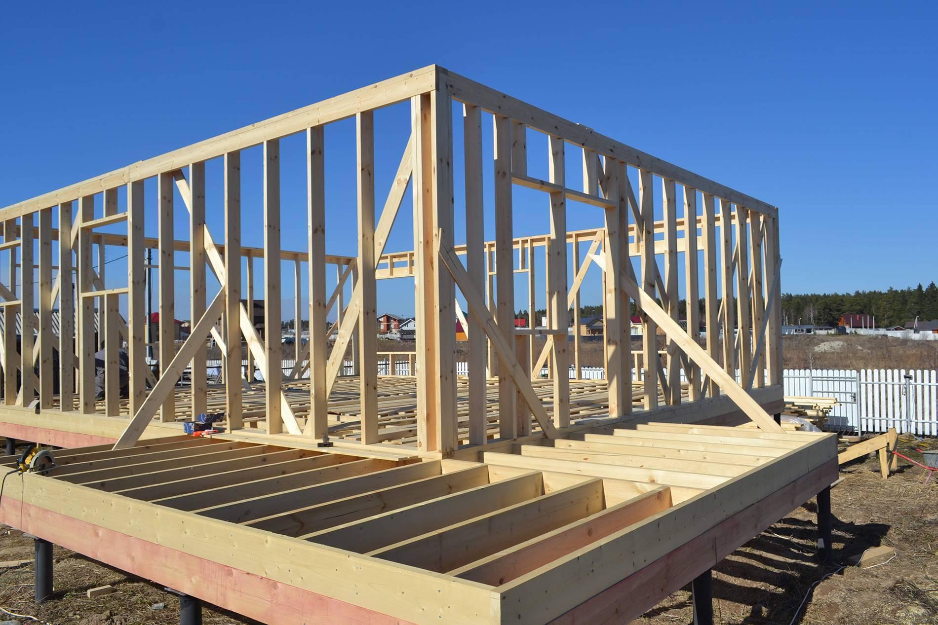 Технология строительства и конструктивные особенности каркасного дома «платформа»