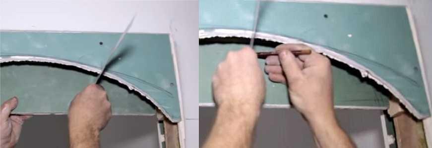Делаем арку из гипсокартона своими руками: пошаговый план