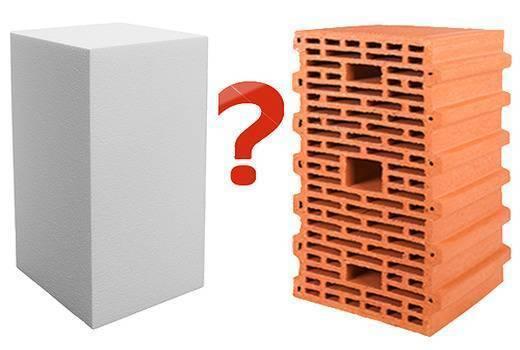 Газобетон или керамические блоки. что лучше. сравнение