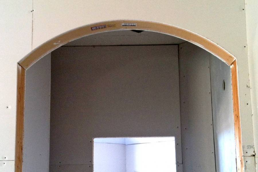 Технология изготовления арки из гипсокартона своими руками
