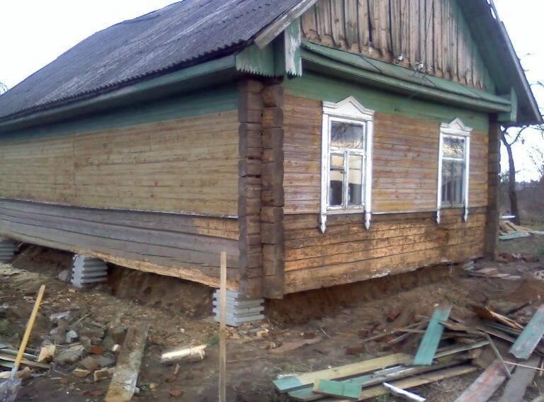 Старый фундамент: замена, ремонт и усиление