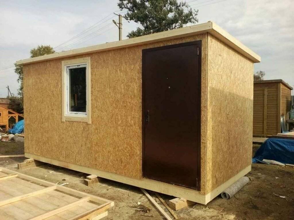 Строительство каркасных домов из ОСБ своими руками