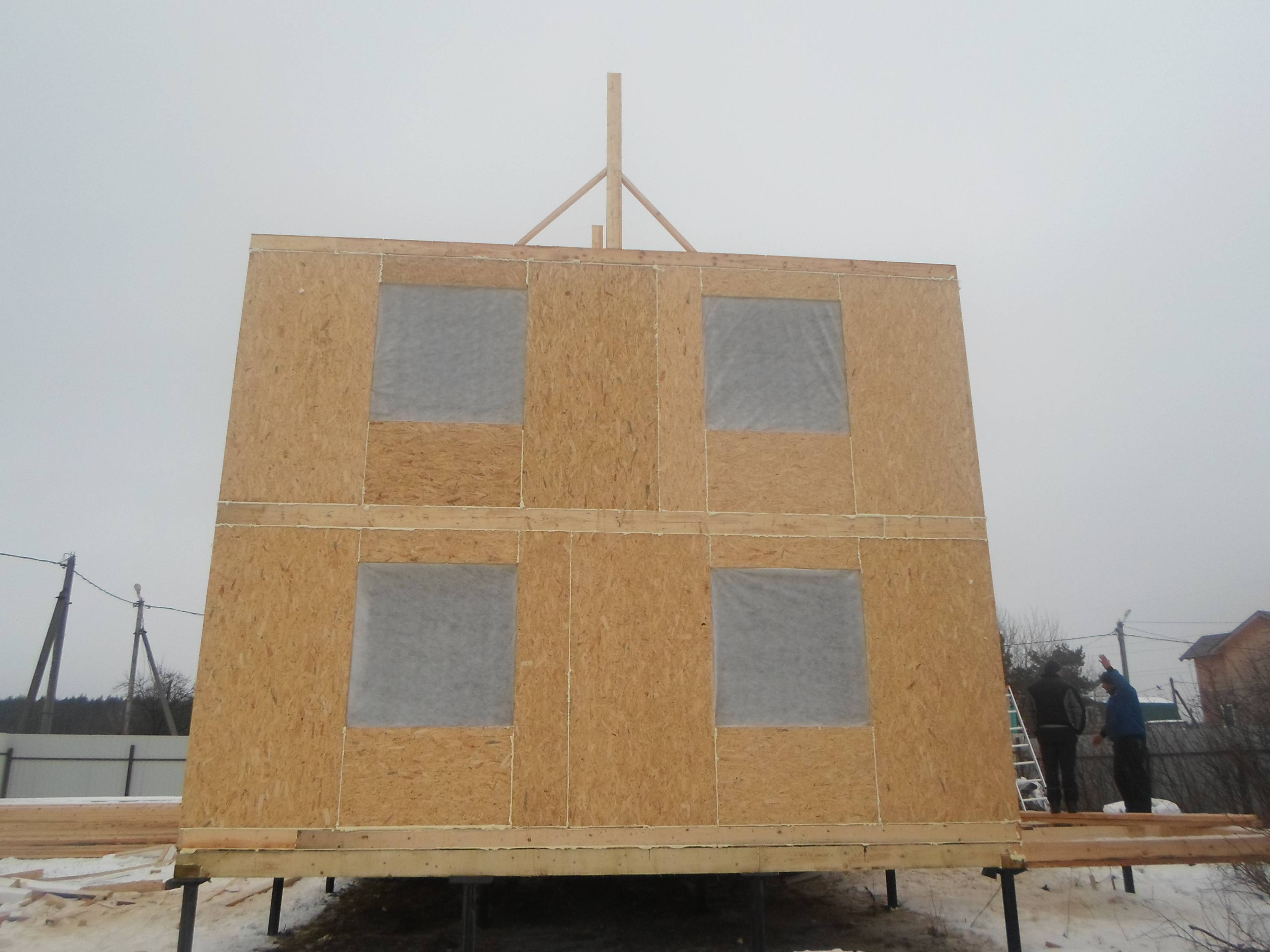 Построить дом по канадской технологии своими руками