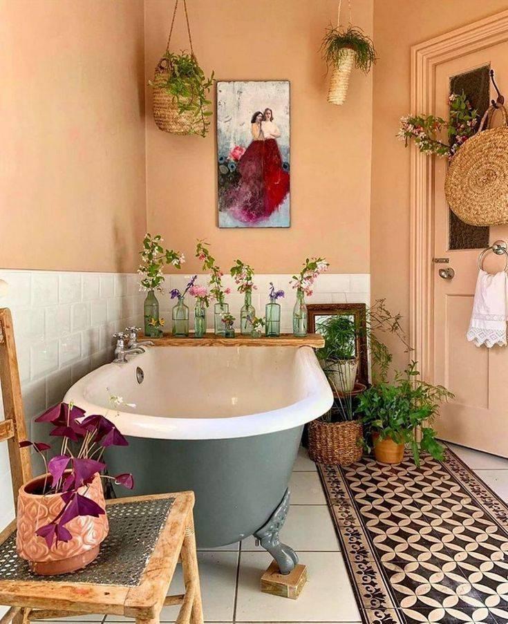 75 оригинальных идей декора ванной комнаты с фото