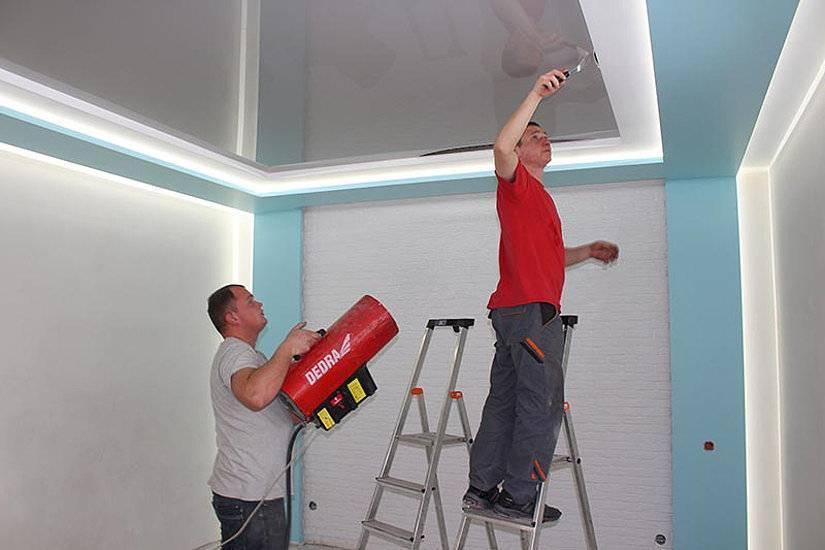 Как натягивать натяжные потолки своими руками как натягивать натяжные потолки своими руками