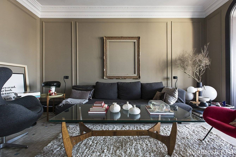 Молдинги на стенах в интерьере: стильный бюджетный декор (+52 фото)