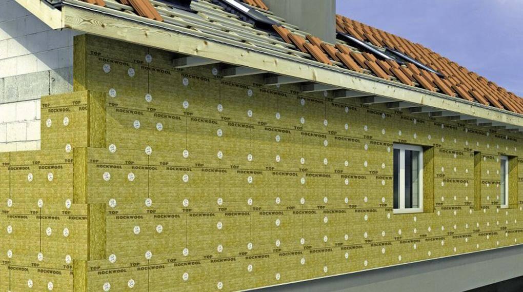 Технология утепления фасада минватой под штукатурку – этапы выполнения работ