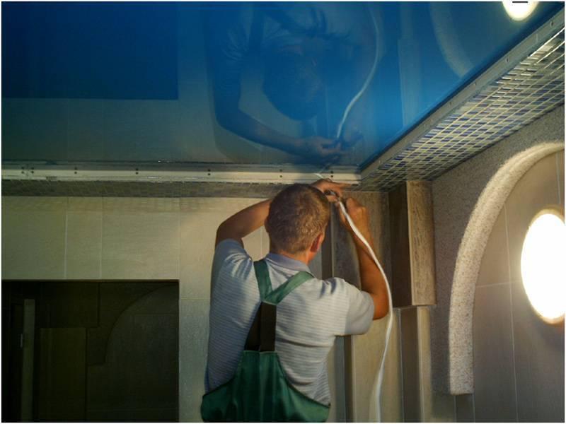 Достоинства и недостатки натяжных потолков, которые устанавливаются без нагрева
