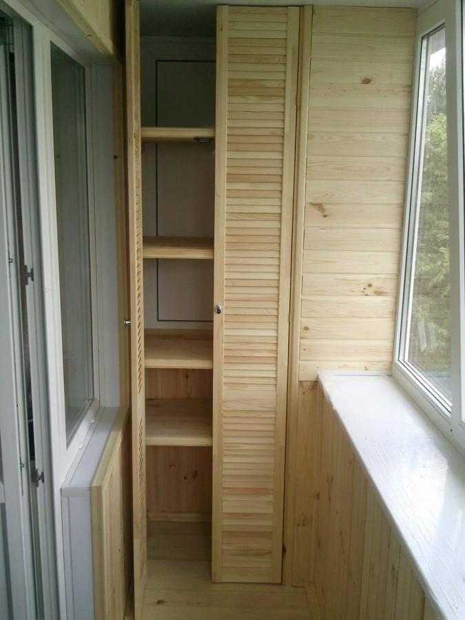 Шкаф на балкон: варианты конструкции, материалы и дизайн   дом мечты