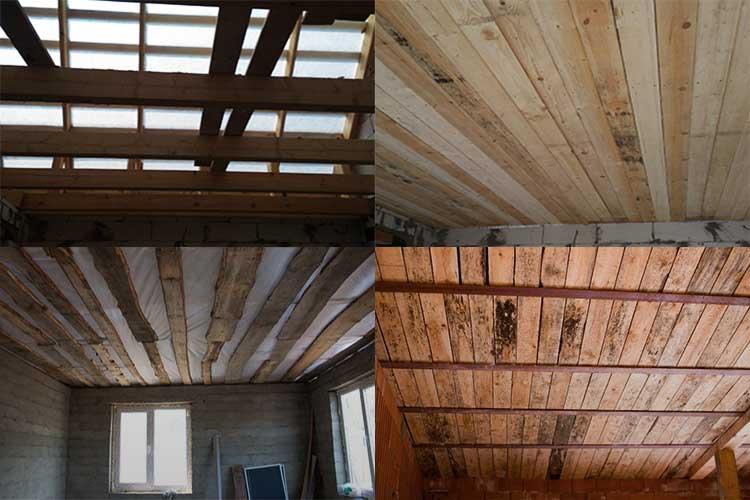 Потолок из фанеры (50 фото). инструкция как обшить своими руками.