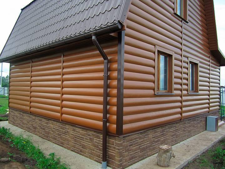 Фиброцементный сайдинг для отделки деревянного дома