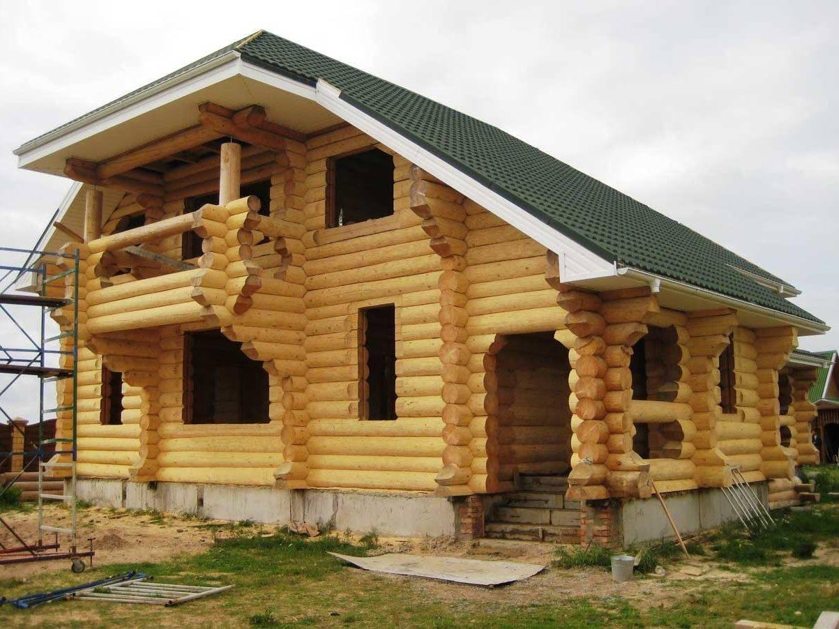 Экологичный калиброванный брус для дома и бани