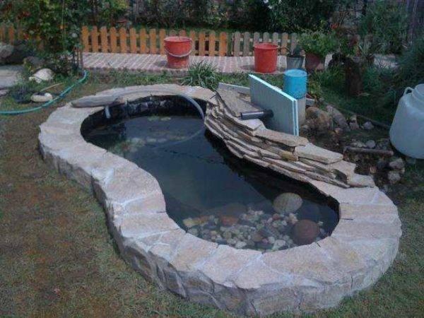 Как сделать пруд надаче своими руками: 4 верных способа и 30идей