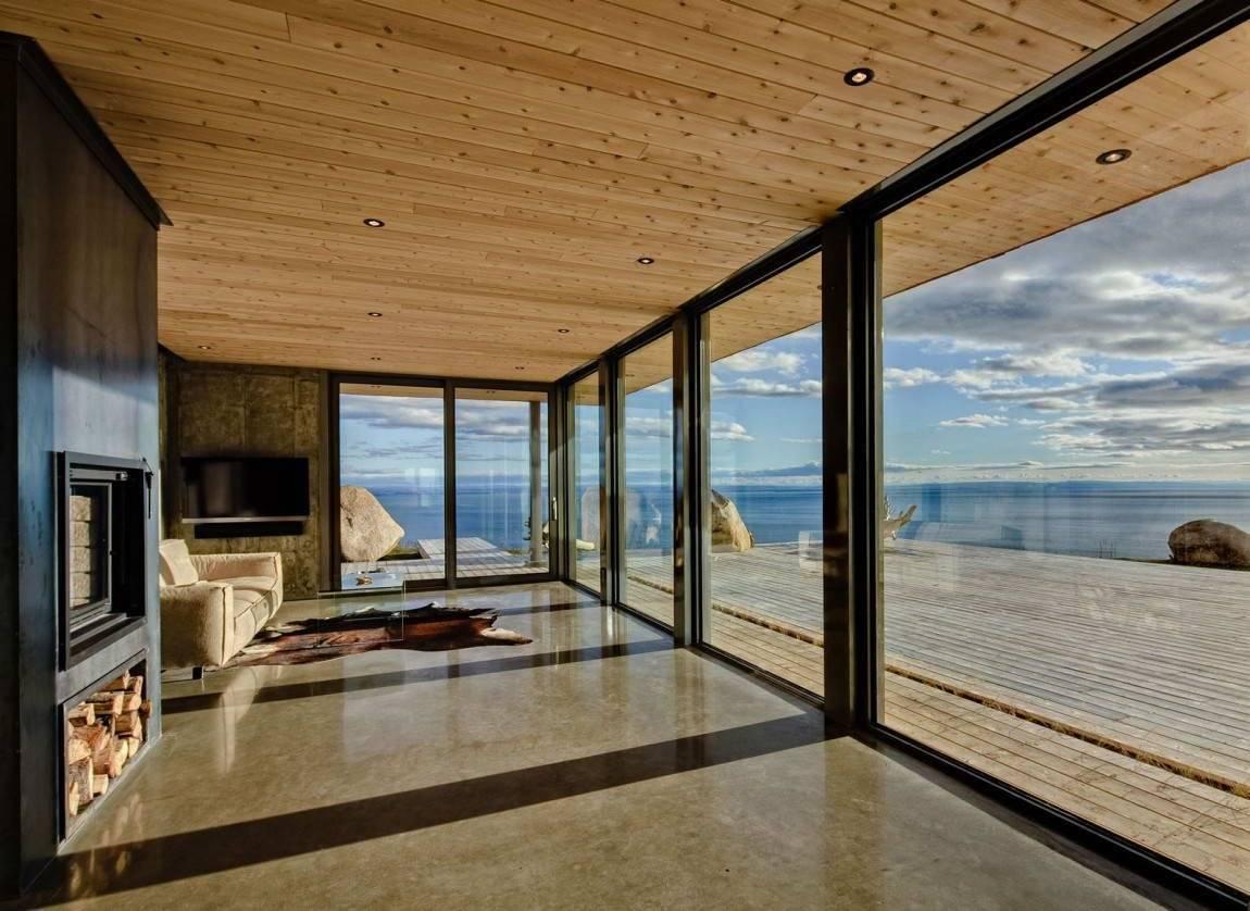 Панорамные окна в квартире: 100 фото красивых решений в интерьере