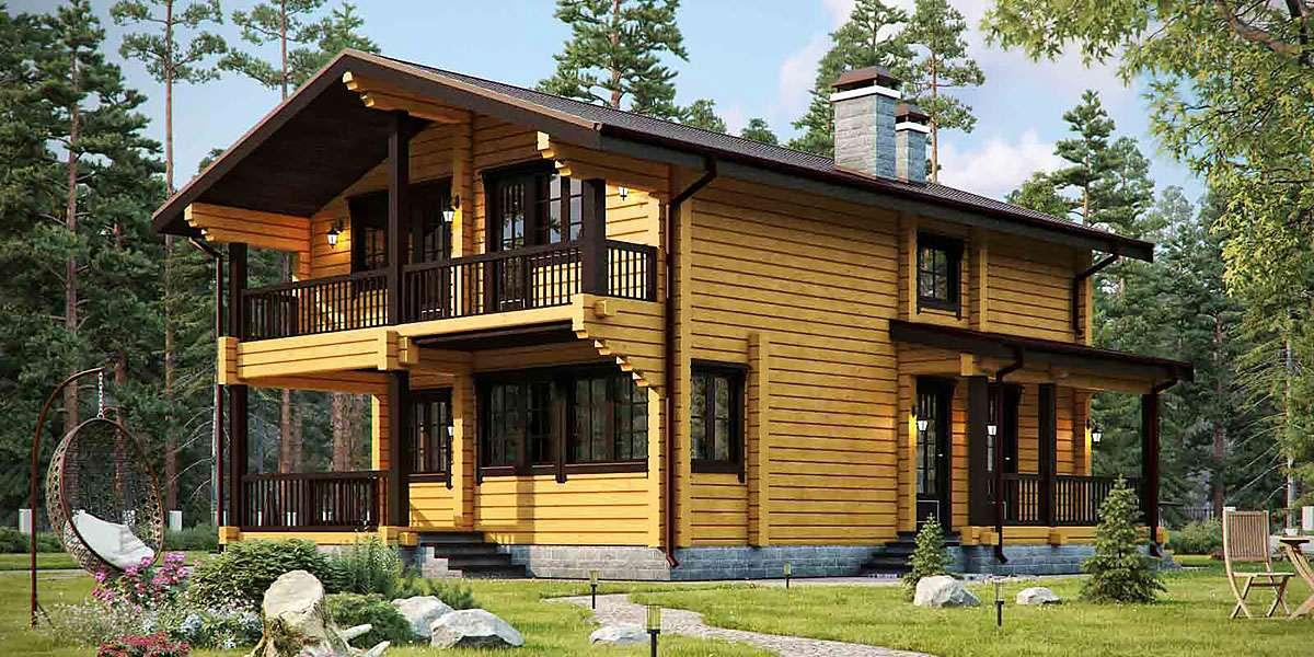 Двухэтажные дома (100+ фото): красивые проекты, идеи и дизайн