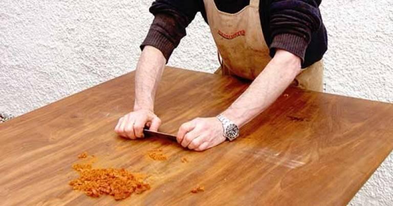 Ремонт шпонированной мебели своими руками - строитель