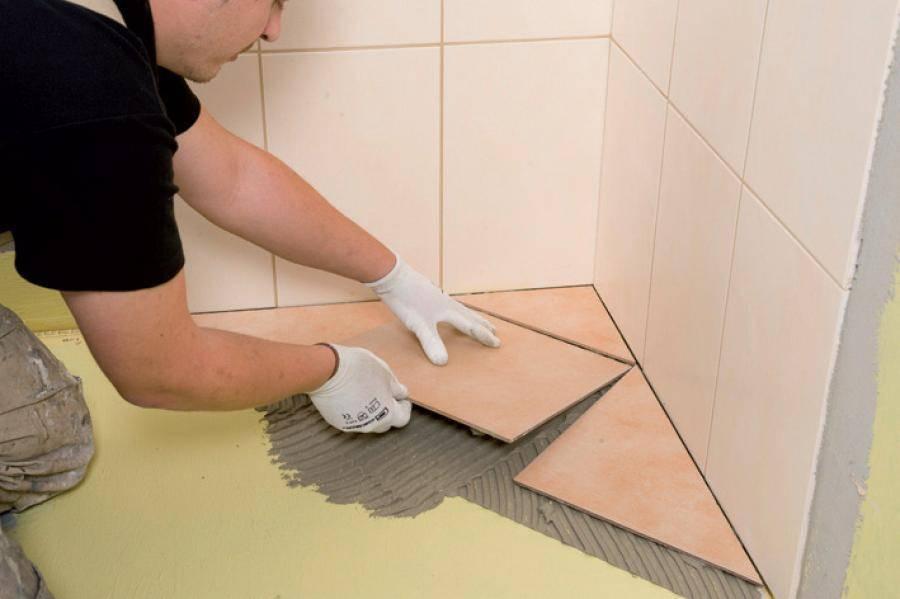 Подготовка стен под плитку в ванной: видео и фото подготовки поверхности стен под кафель