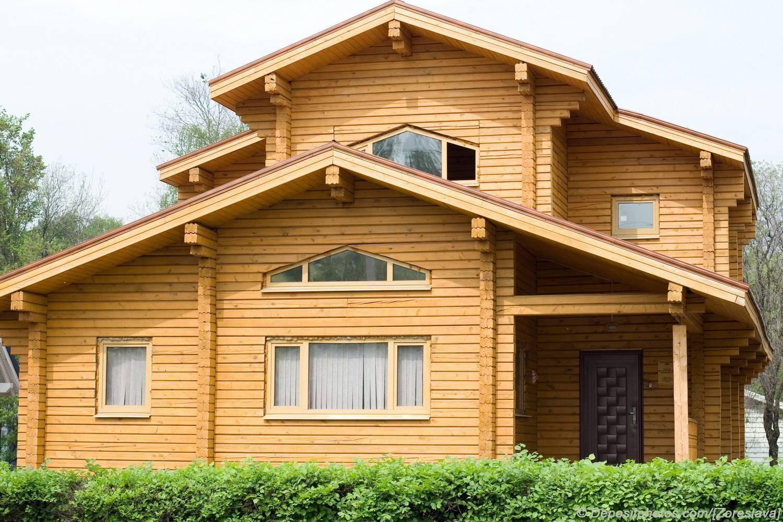 Дом из бруса: профилированный и калиброванный брус
