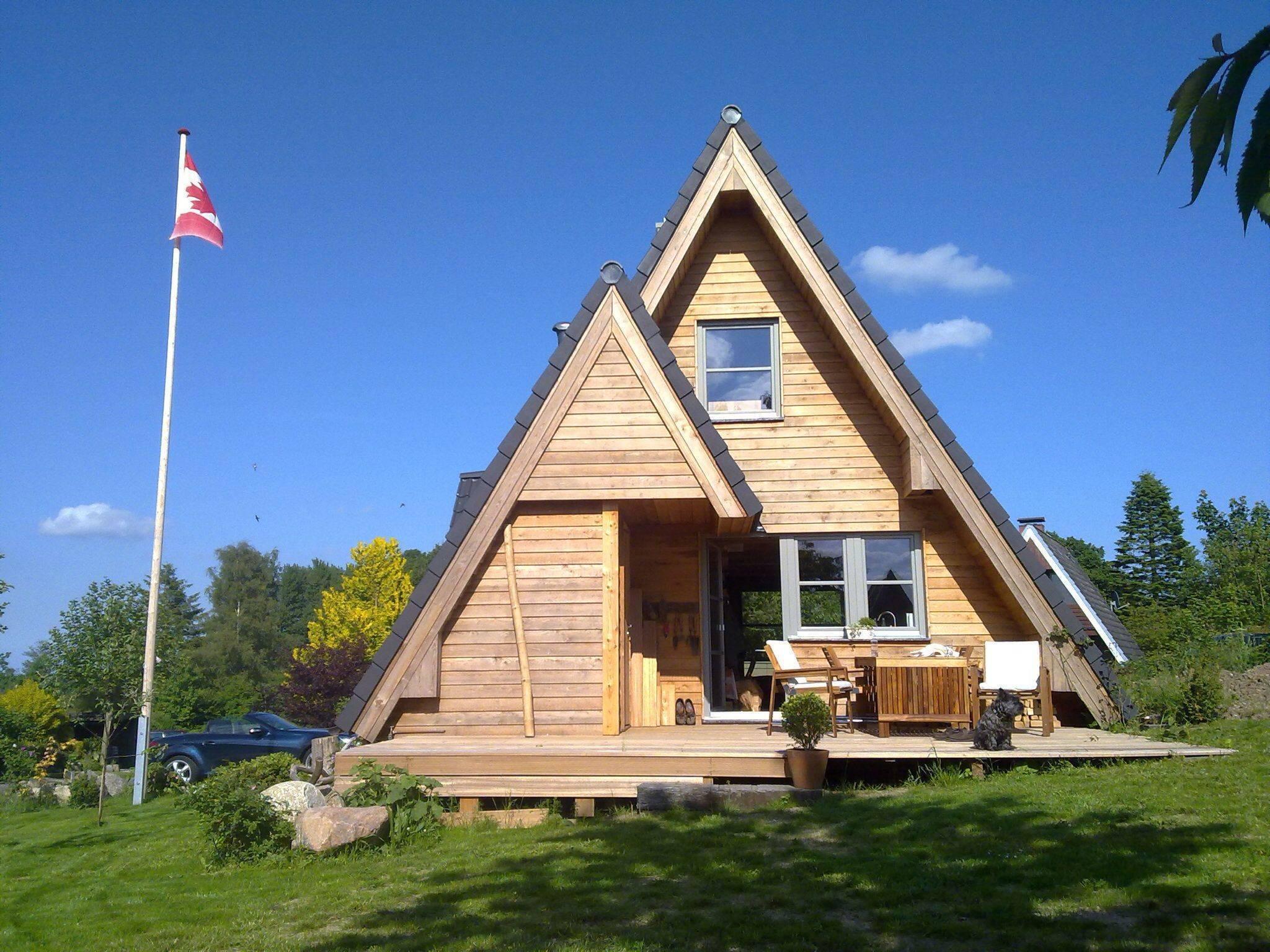 Каркасный дом-шалаш своими руками, как построить а-образный дом