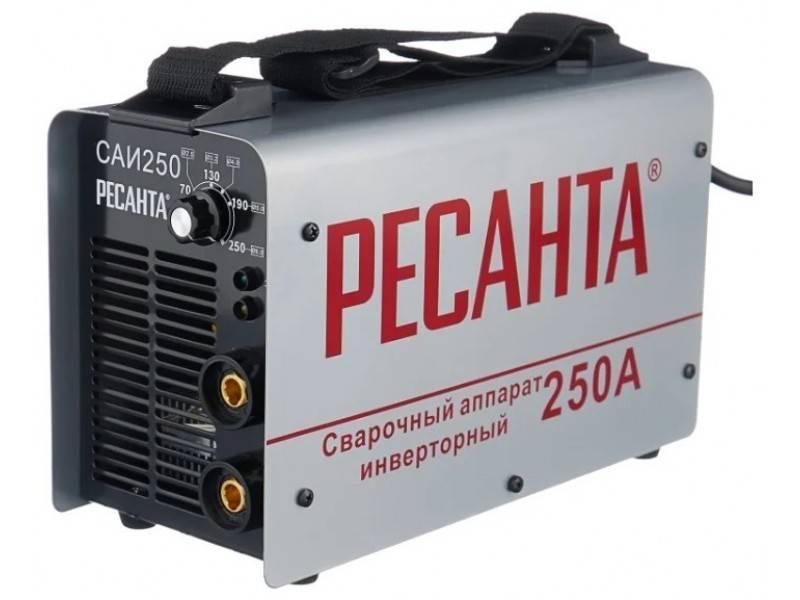 Как работает сварочный аппарат «ресанта саи-220 пн»: особенности, преимущества и отзывы покупателей