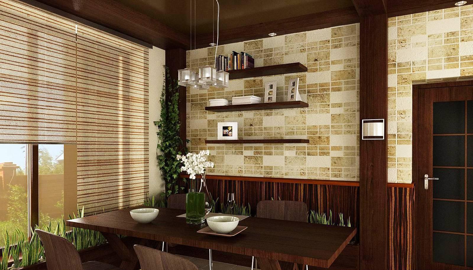 Лучшие варианты отделки стен на кухне