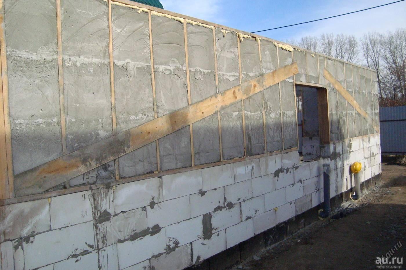 Как строят дома из монолитного пенобетона?