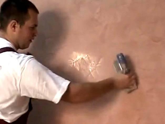 Как своими руками наносить венецианскую штукатурку?